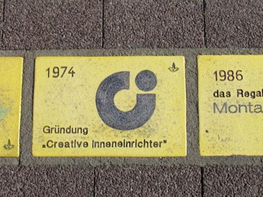 Fliese 183 - Karlsruher Sonnenfächer - 1974 - Creative Inneneinrichter