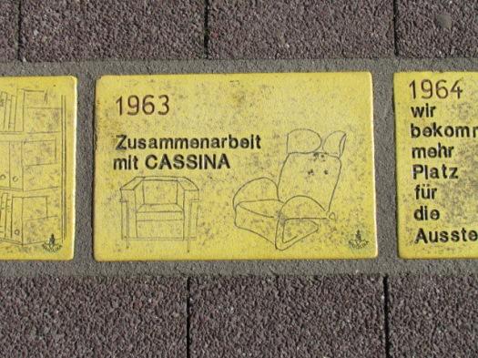 Fliese 173 - Karlsruher Sonnenfächer - CASSINA Moebel
