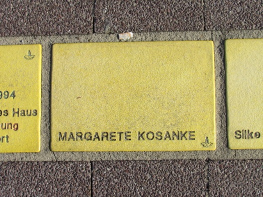 Fliese 11 - Karlsruher Sonnenfächer - Margarete Kosanke