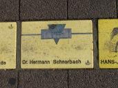 Fliese 8 Karlsruher Sonnenfächer - Dr. Herrmann Schnorbach