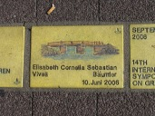 Sonnenfächer Karlsruhe - Elisabeth Cornelia Sebastian Vivell Bäumler