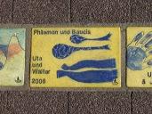 Sonnenfächer Karlsruhe - Philemon und Baucis Uta und Walter