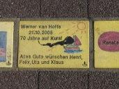 Sonnenfächer Karlsruhe - Werner van Hoffs