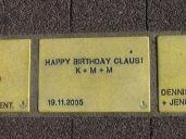 Sonnenfächer Karlsruhe - Happy Birthday Claus