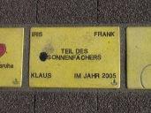 Sonnenfächer Karlsruhe - Iris Frank Klaus