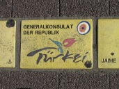 Sonnenfächer Karlsruhe - Generalkonsulat der Republik Türkei