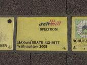 Sonnenfächer Karlsruhe - Max und Beate Schmitt - Weihnachten 2005