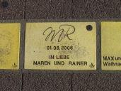 Sonnenfächer Karlsruhe - In Liebe Maren und Rainer - 01.06.2006