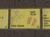 Sonnenfächer Karlsruhe - Paul Huber - 12.Juli 2005