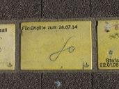 Sonnenfächer Karlsruhe - Für Brigitte zum 26.07.04