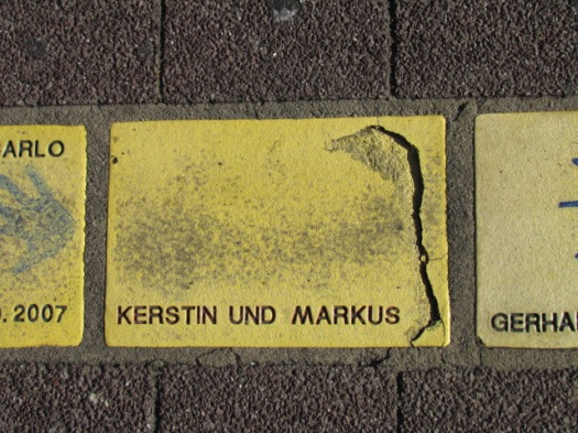 Fliese 6 Karlsruhe Sonnerfächer - Kerstin und Markus